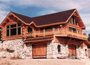 About Handcrafted Log Homes