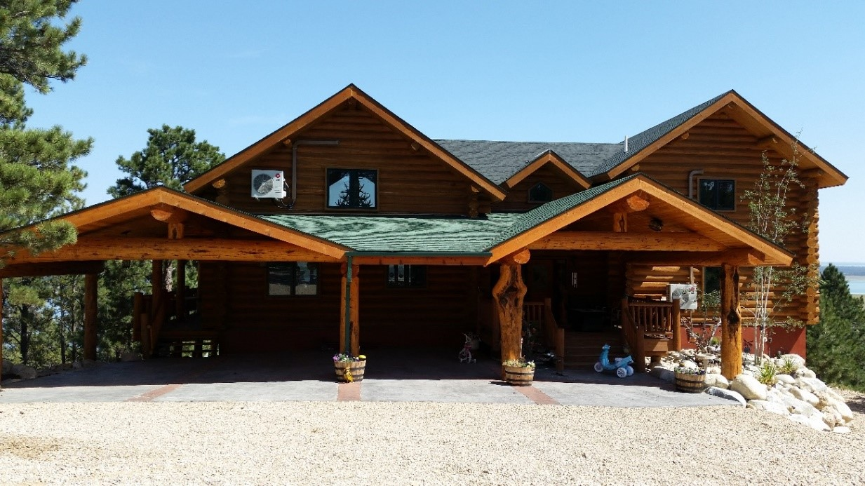 Carports & Porches – Handcrafted Log Homes