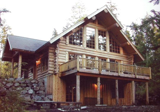 Handcrafted Log Homes