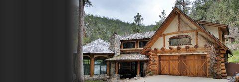 Custom Log Buildings