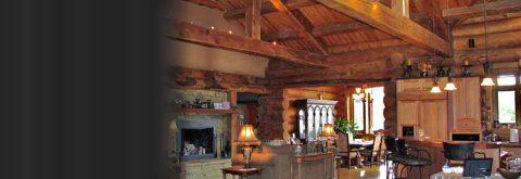 Handcrafted Log Interiors