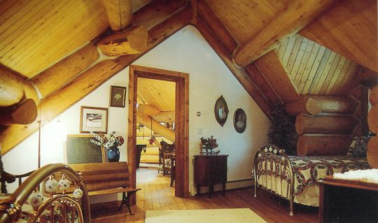 Custom Log Interior