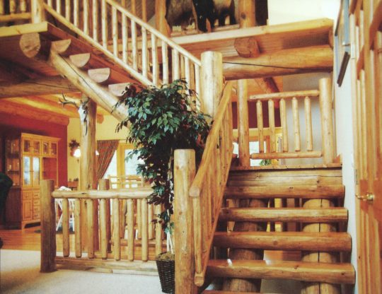 Handcrafted Staircase & Railing